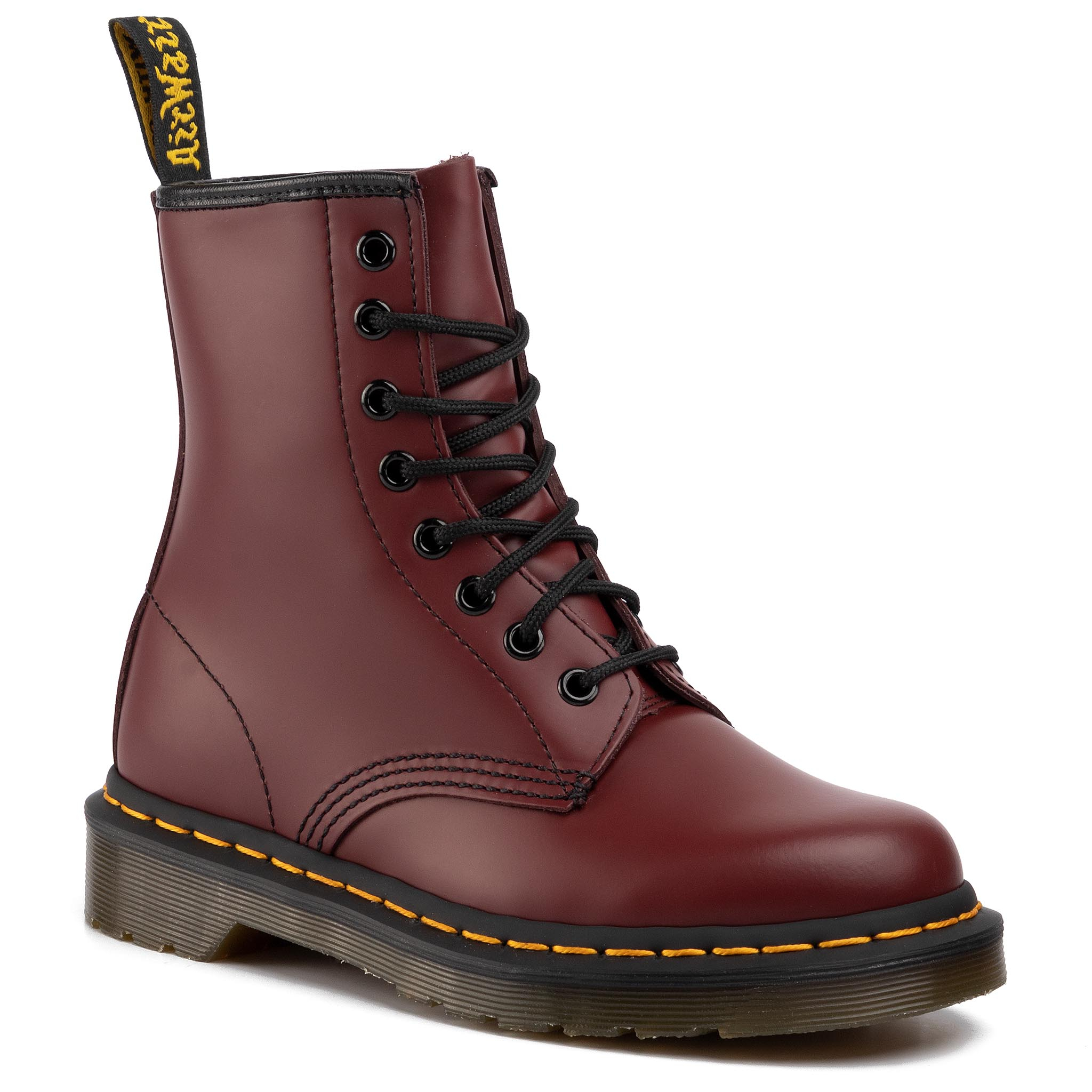 Image of Anfibi DR. MARTENS - 1460 Smooth 10072600 Cherry Red