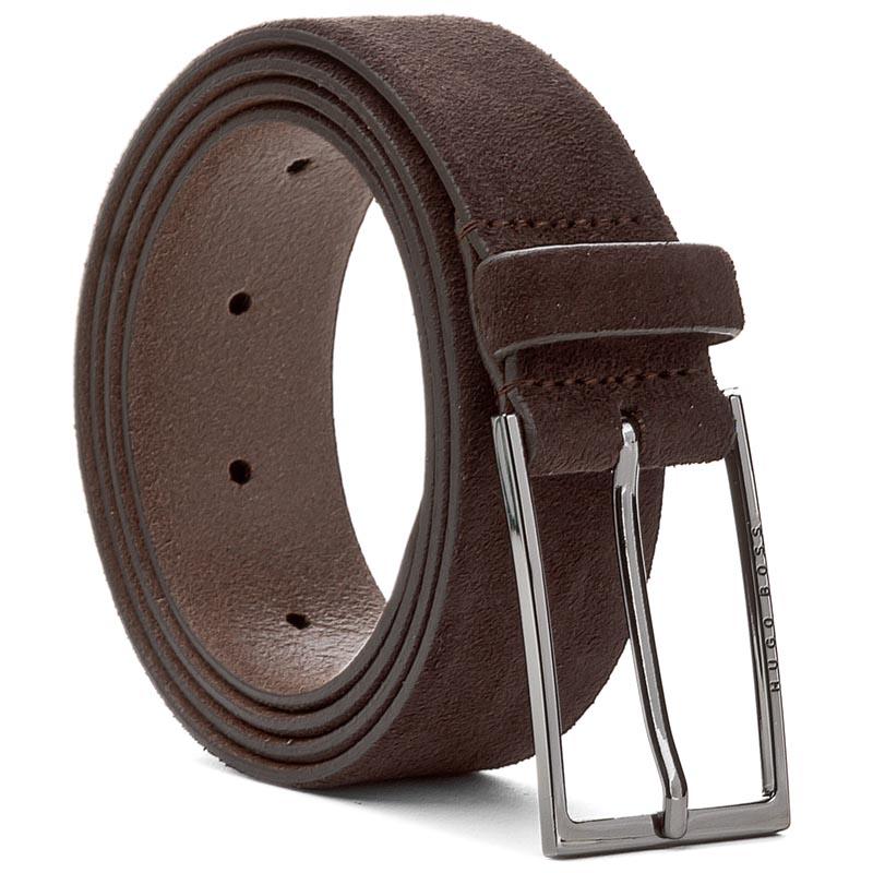 Image of Cintura da uomo BOSS - Calindo 50375225 95 Dark Brown 202