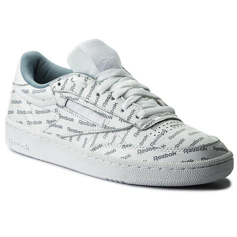 Image of Scarpe Reebok - Club C 85 So BS5215 White/Mtr Grey/Prml Red