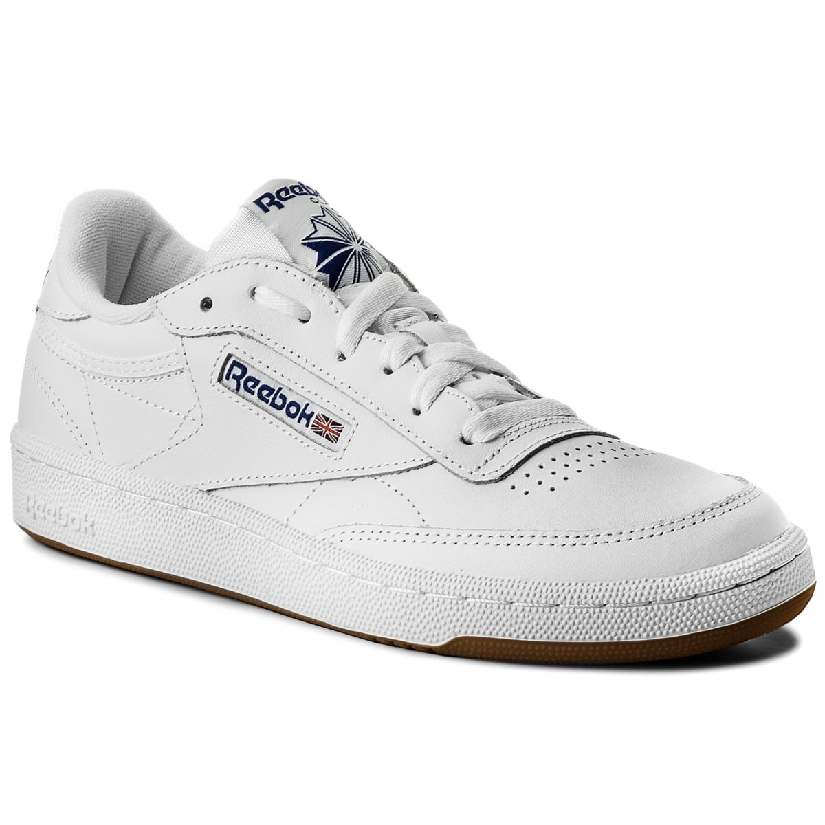 Image of Scarpe Reebok - Club C 85 AR0459 White/Royal/Gum