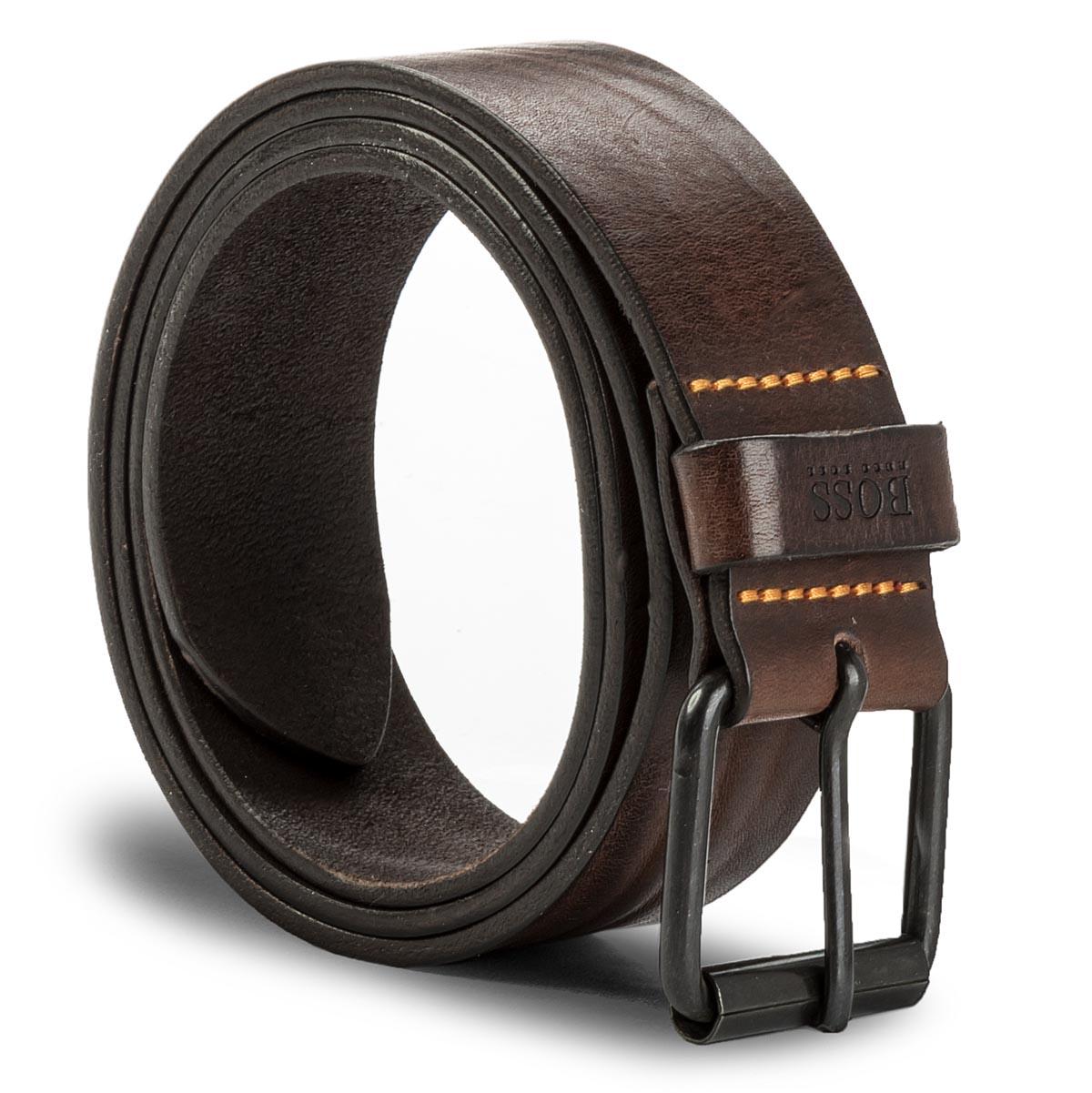 Image of Cintura da uomo BOSS - Jesse 50385672 105 Dark Brown 202