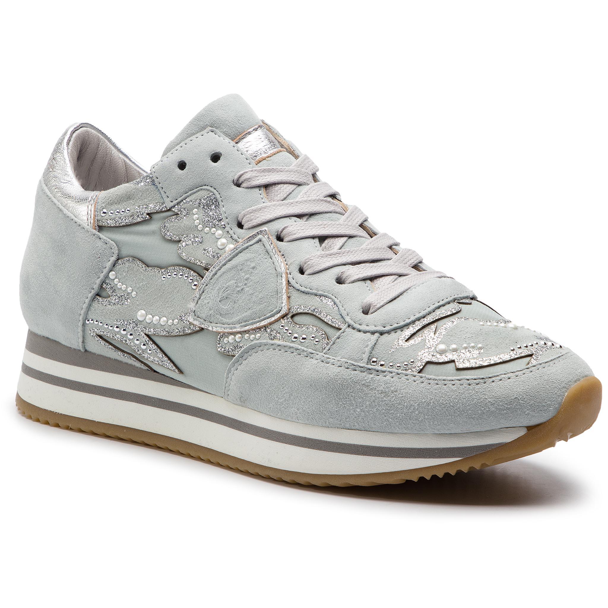 Sneakers PHILIPPE MODEL Tropez TRLD DC01 Blanc Mix