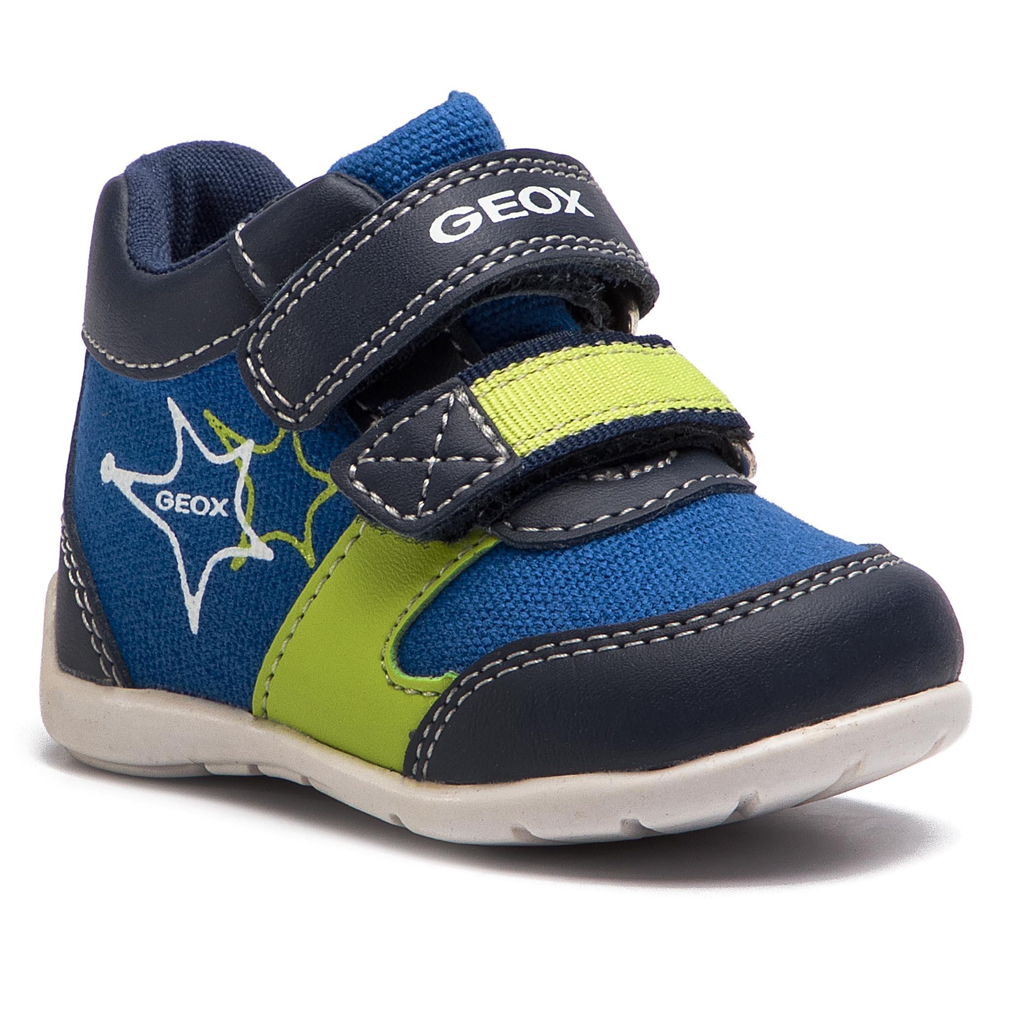 Sneakers GEOX B Ethan B. B B821PB 01054 C0749 M NavyLime