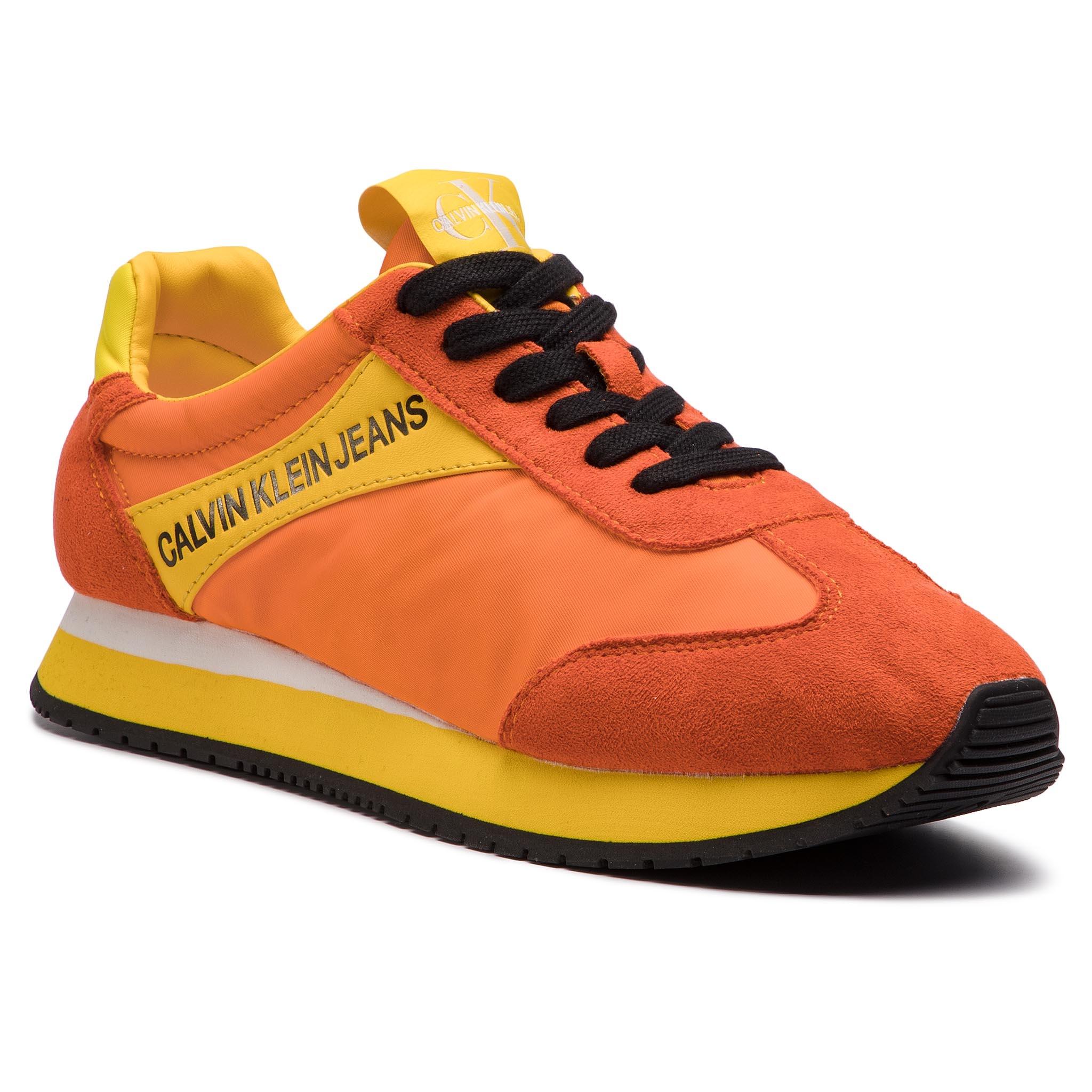 Image of Sneakers CALVIN KLEIN JEANS - Jerrold S0615 Multi Orange