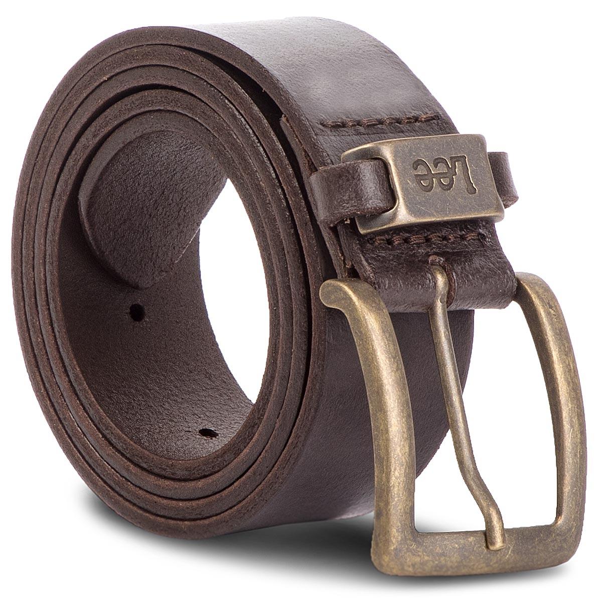 Image of Cintura da uomo LEE - LA055324 85 Dark Brown