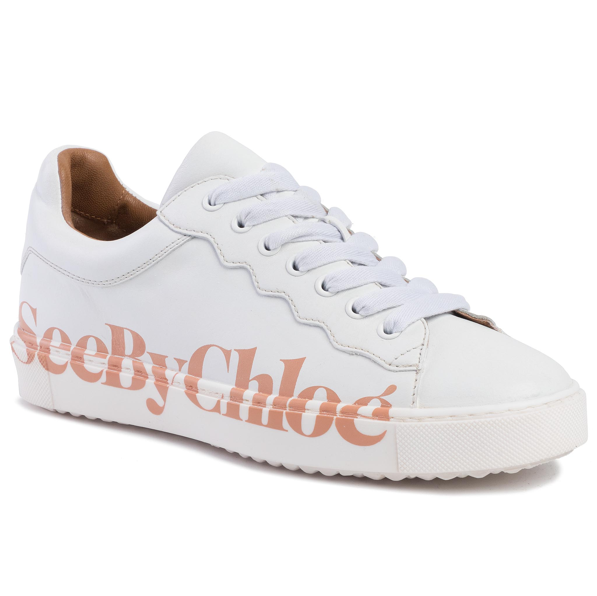 Image of Sneakers SEE BY CHLOÉ - SB33125A Bianco/Logo Pink 101