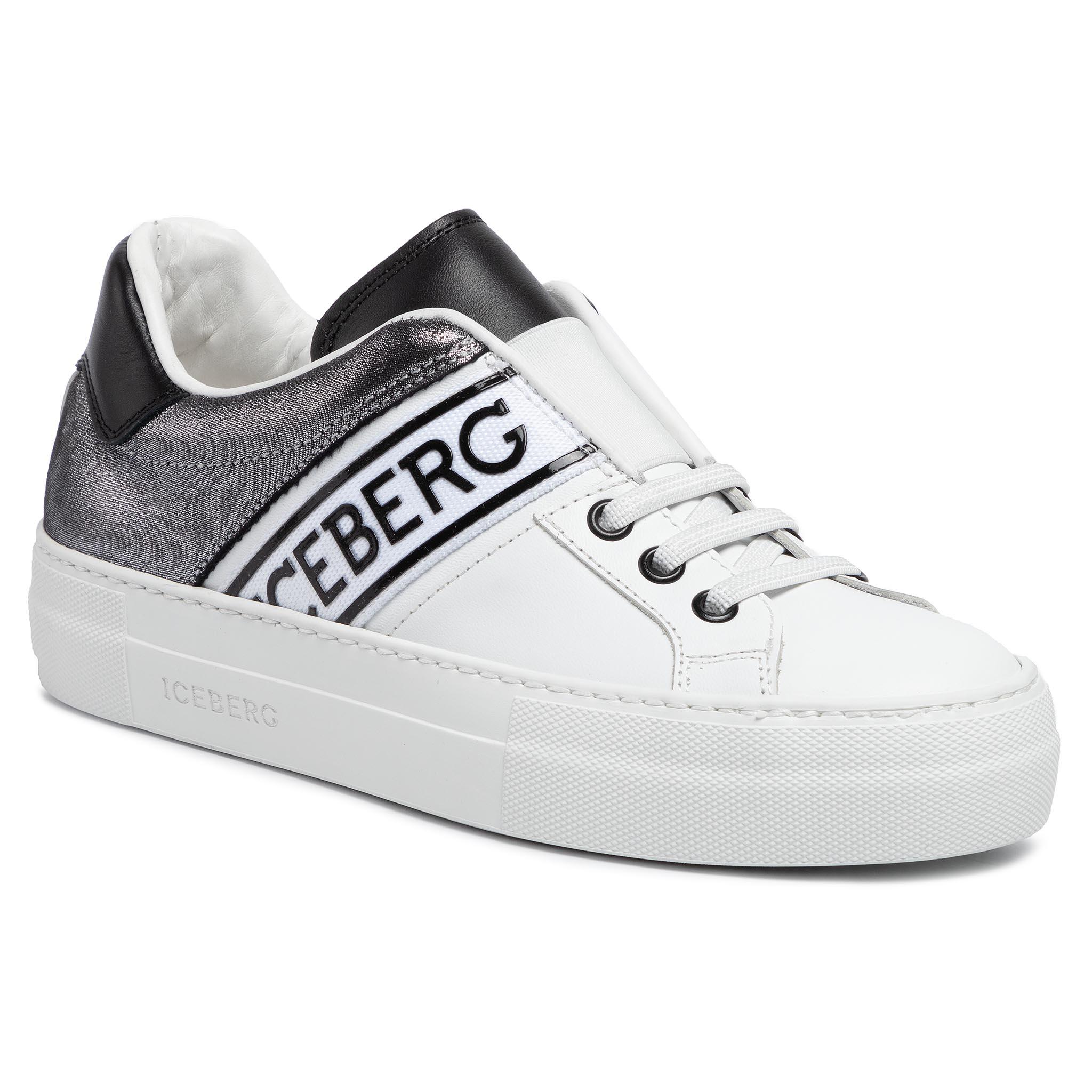 Image of Sneakers ICEBERG - Gioia 19IID1631A Comb.White