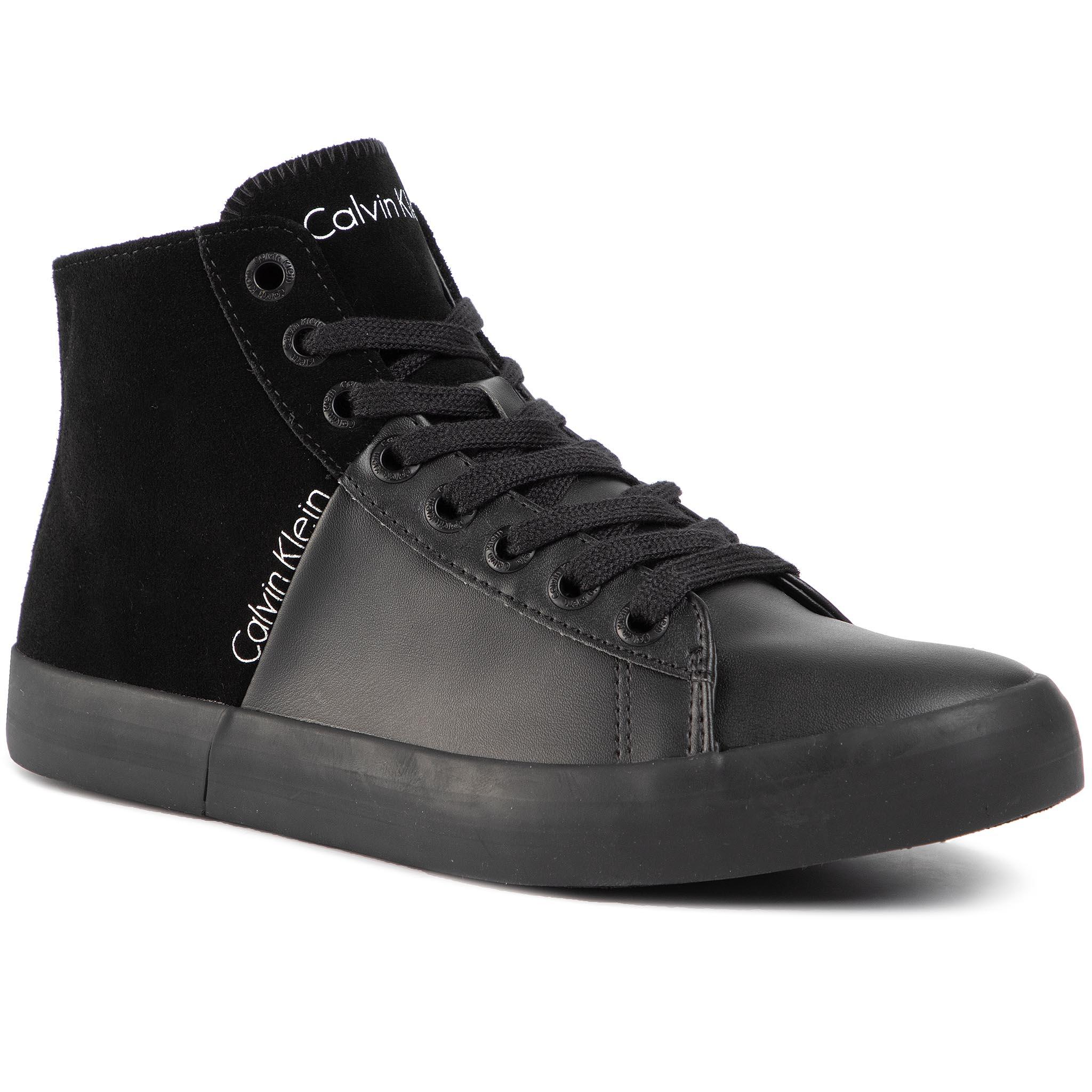 Image of Sneakers CALVIN KLEIN JEANS - Buck SE8463 Black/Black