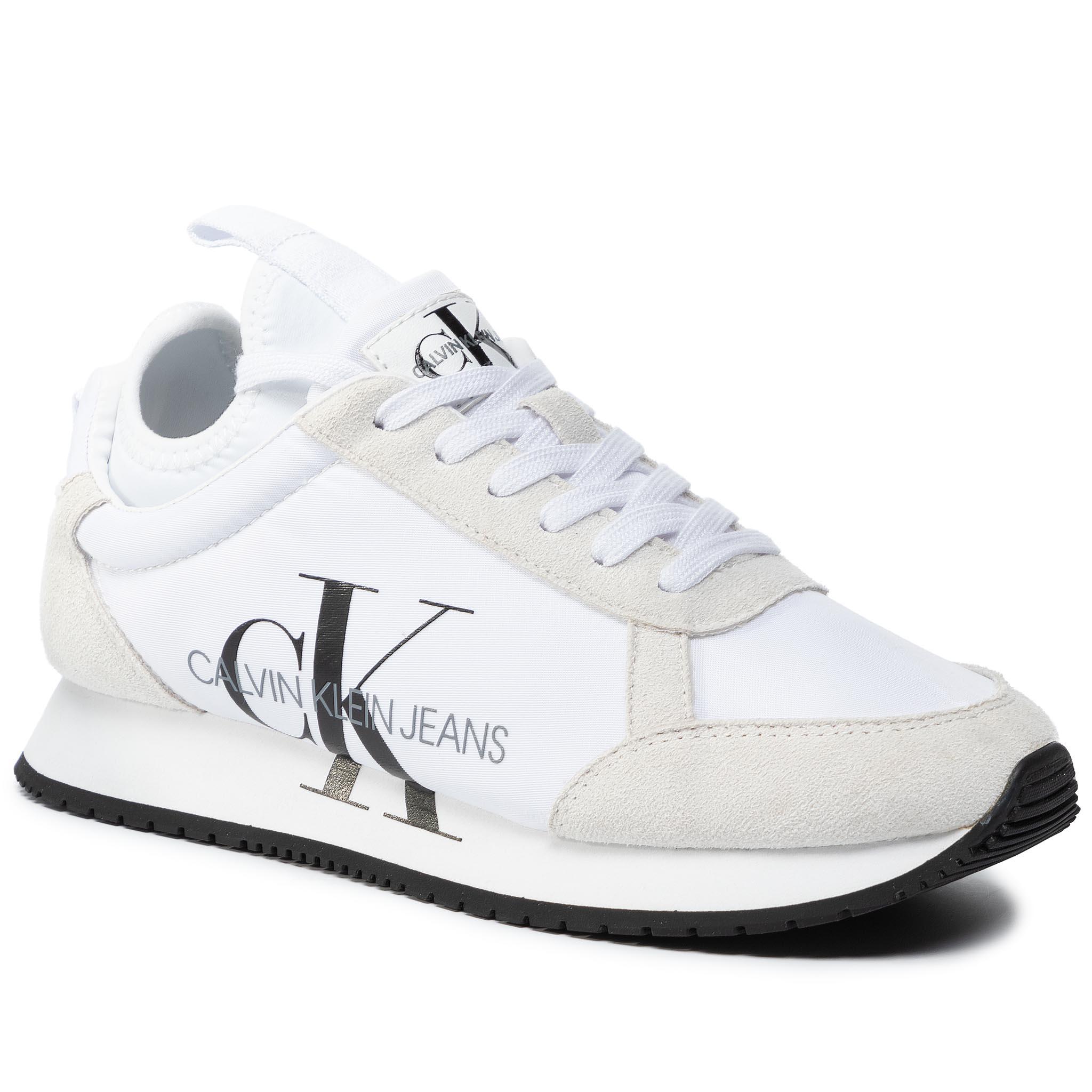 Sneakers CALVIN KLEIN JEANS - Josslyn B4R0825 White