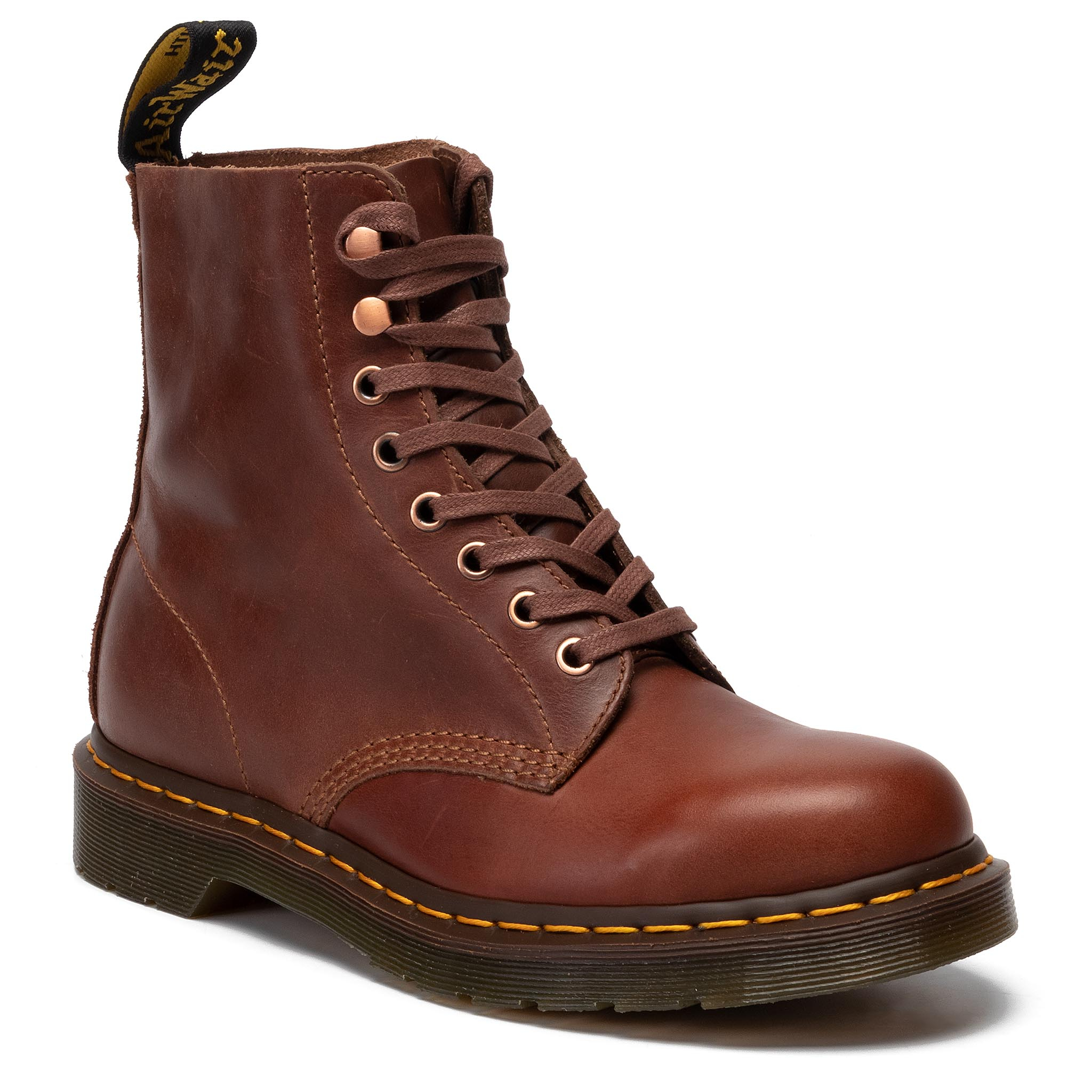 Image of Anfibi DR. MARTENS - 1460 Pascal 24990220 Tan/Polo Brown
