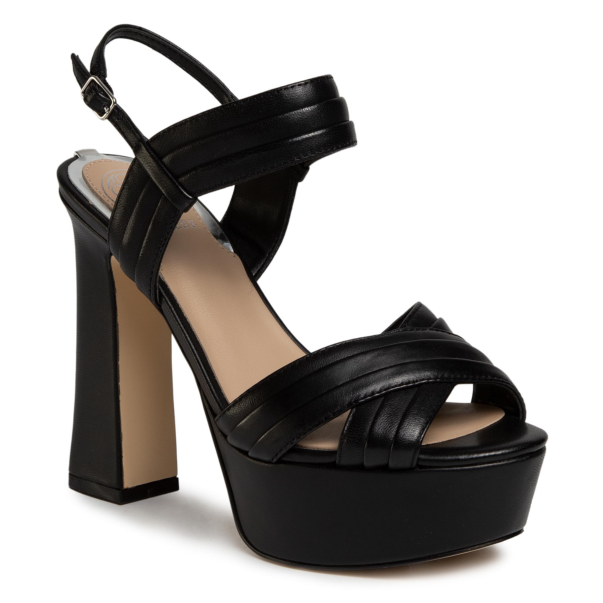 Sandali GUESS - Jania FL6JAA LEA03 BLACK