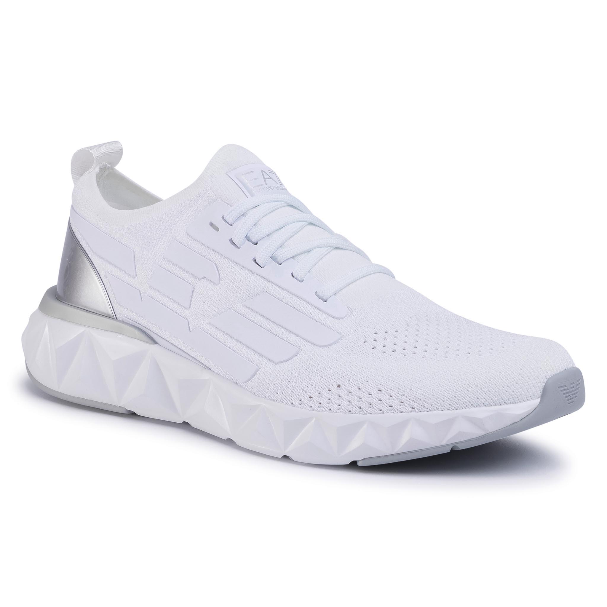 Sneakers EA7 EMPORIO ARMANI - X8X048 XK113 00175 White/Silver
