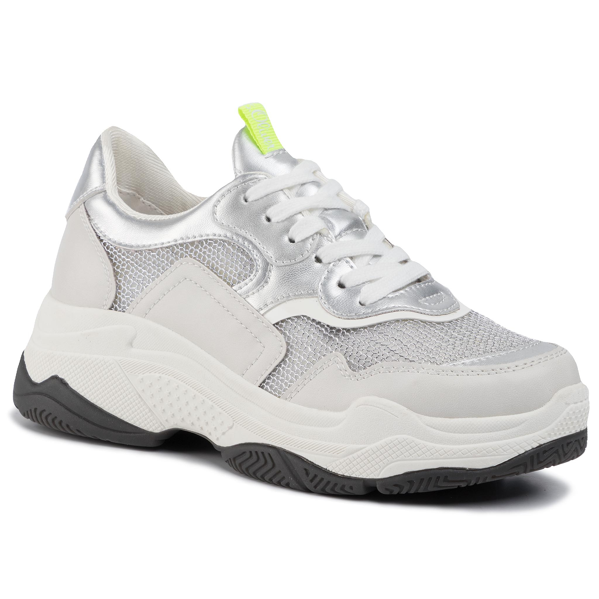 Image of Sneakers S.OLIVER - 5-23635-33 White Comb. 110