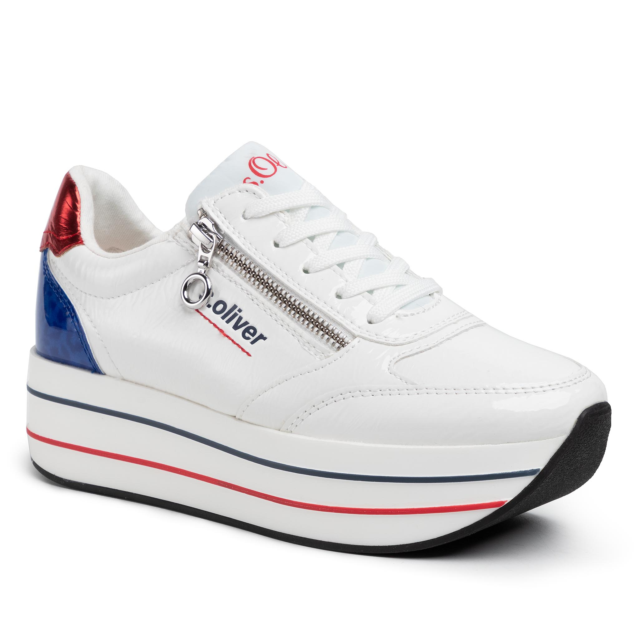Image of Sneakers S.OLIVER - 5-23641-34 White Comb. 110