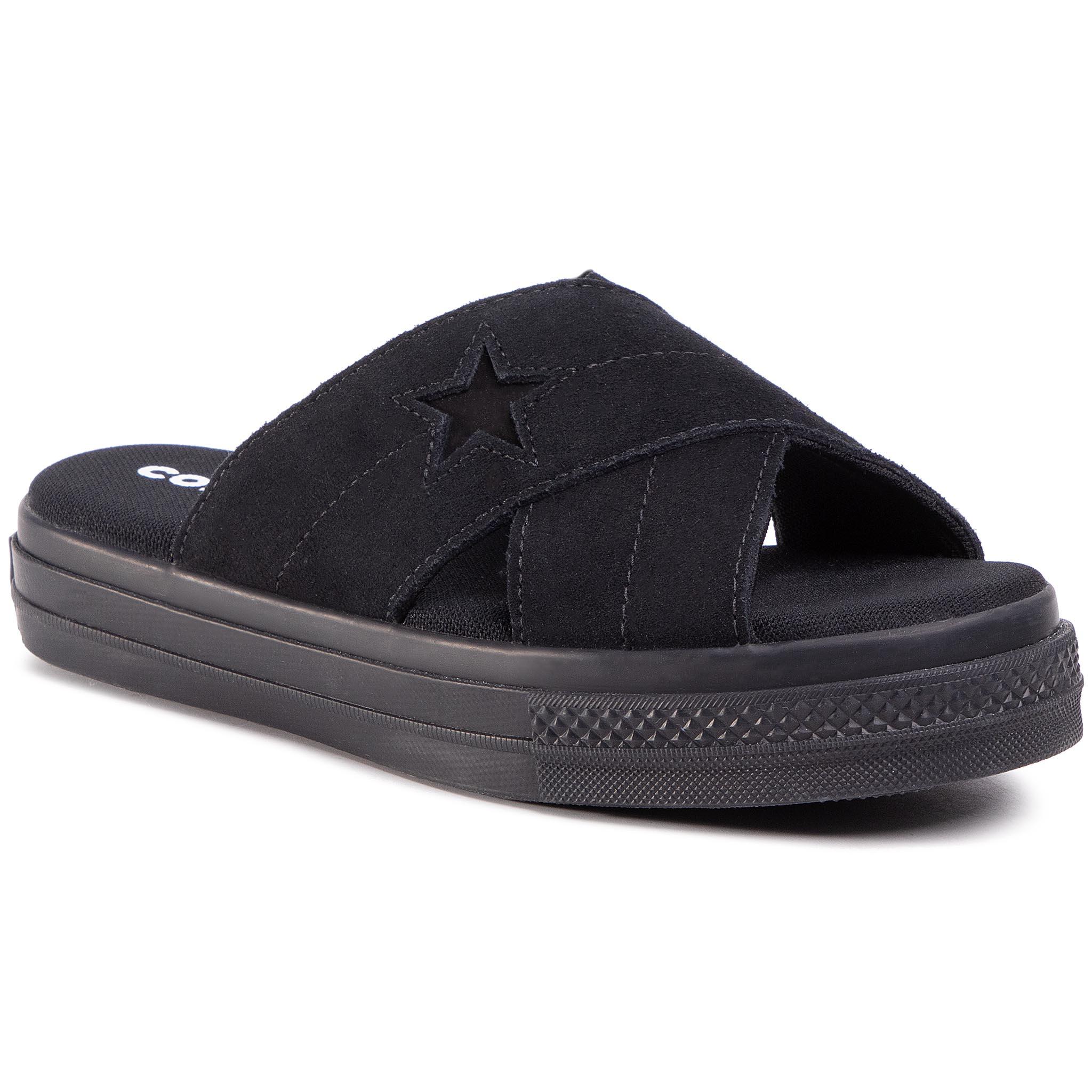 Image of Ciabatte CONVERSE - One Star Sandal Slip 564149C Black/Black/Black