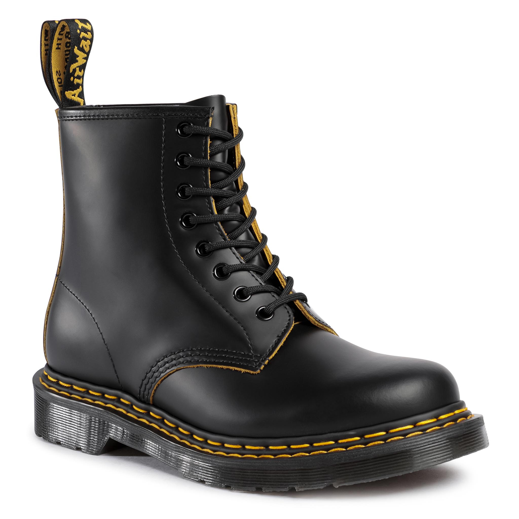 Image of Anfibi DR. MARTENS - 1460 Ds 26100032 Black/Yellow