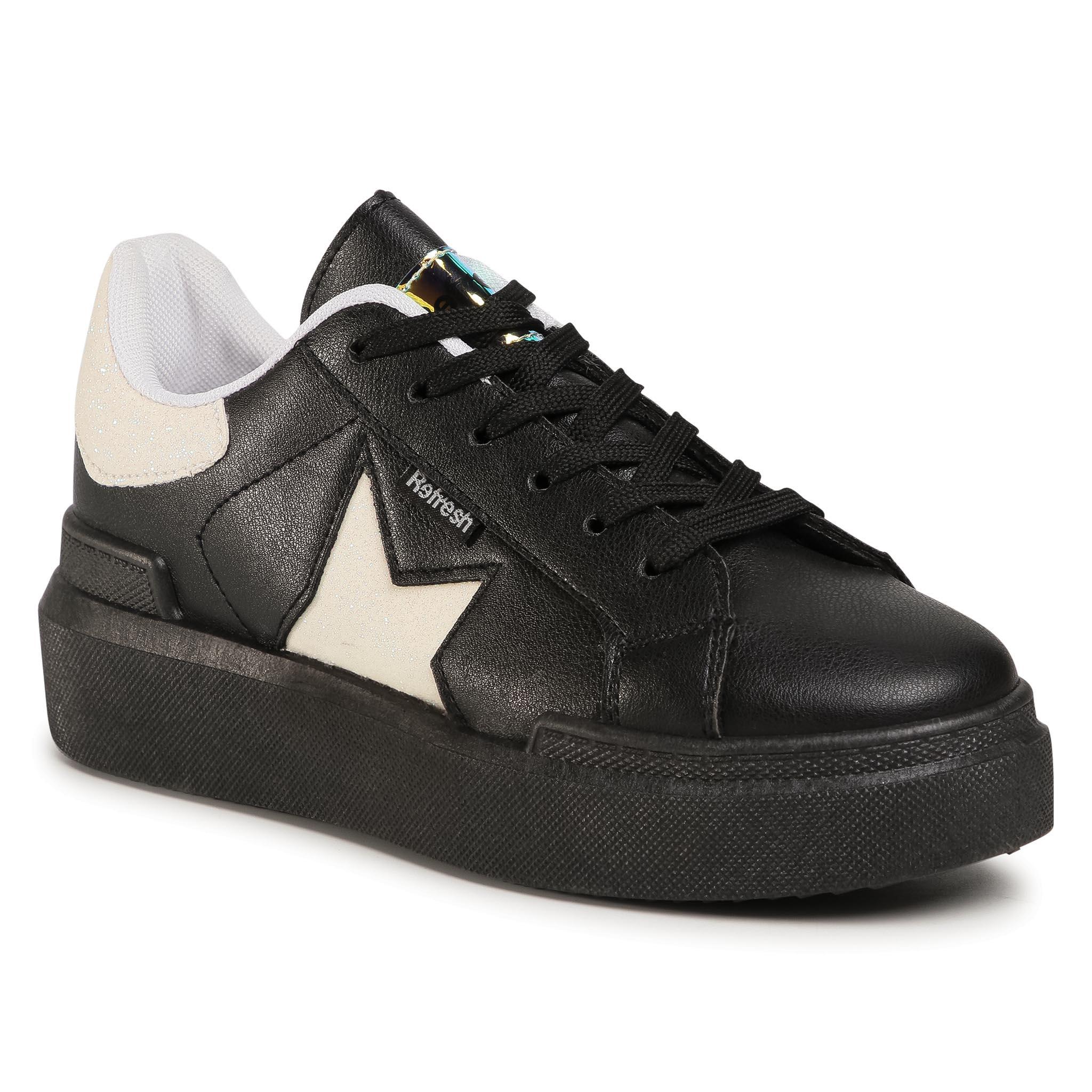 Sneakers REFRESH - 72501 Negro