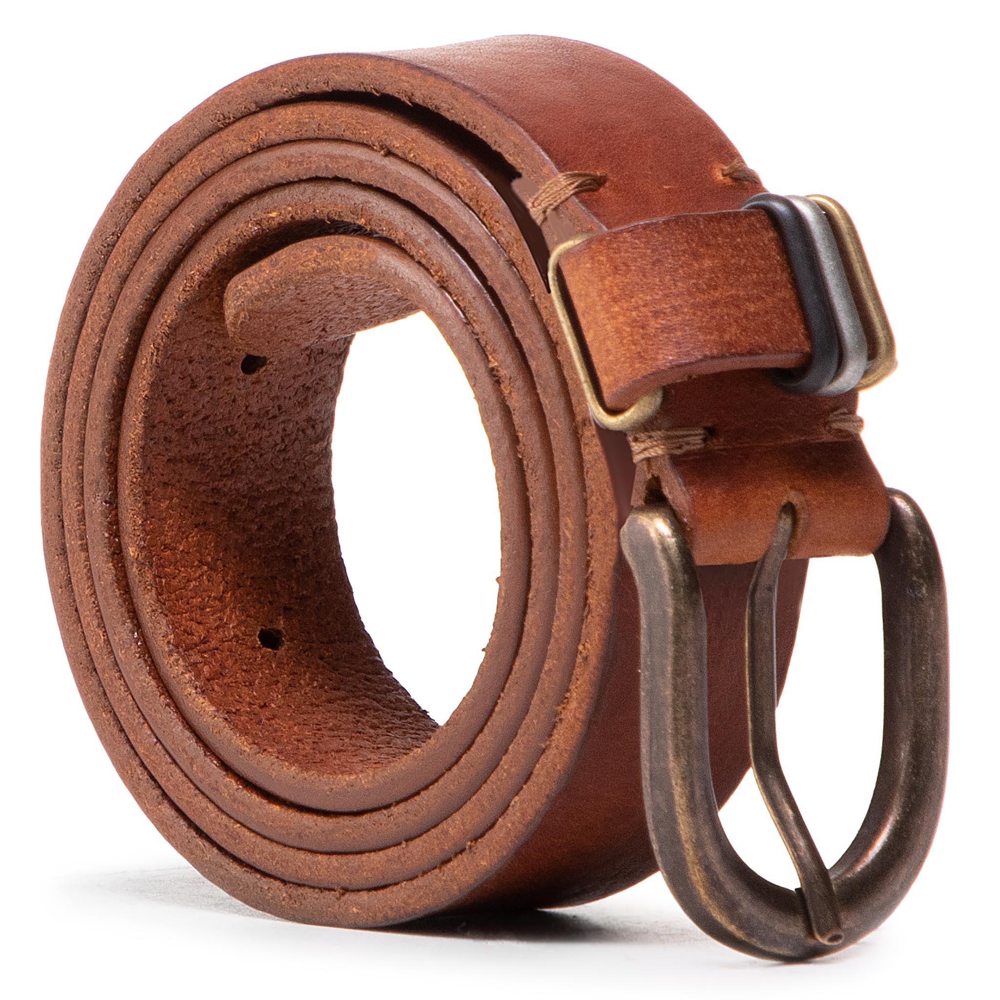 Cintura da donna WRANGLER - Loop Detail W0G9U1X81 Cognac