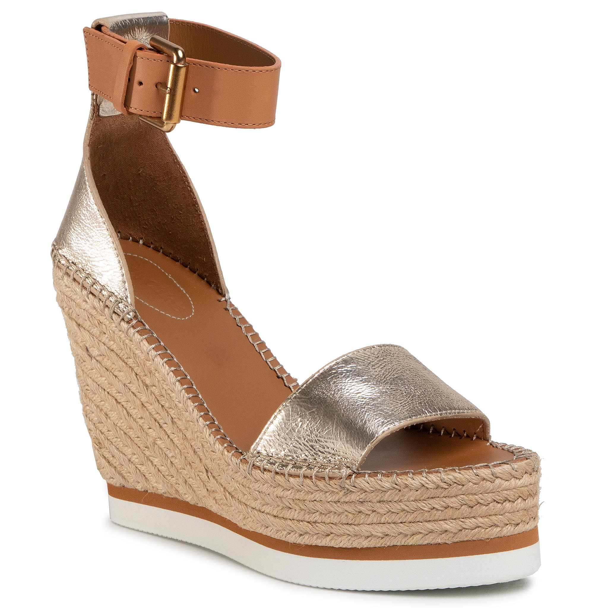 Image of Espadrillas SEE BY CHLOÉ - SB26152 Light Gold 533