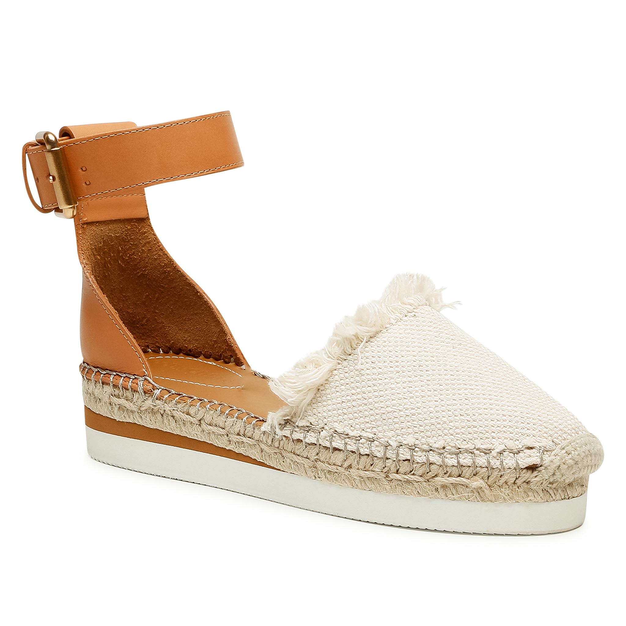 Image of Espadrillas SEE BY CHLOÉ - SB28151 Nat Calf 120/Light Rown 517