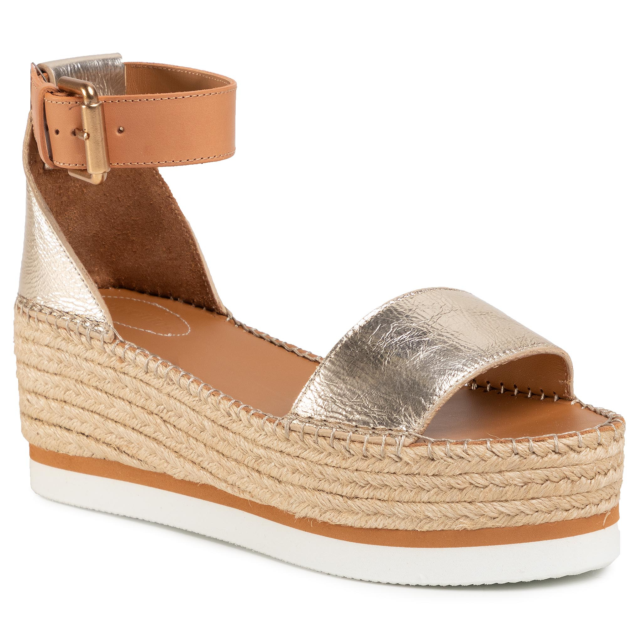 Image of Espadrillas SEE BY CHLOÉ - SB32201A Light Gold 533