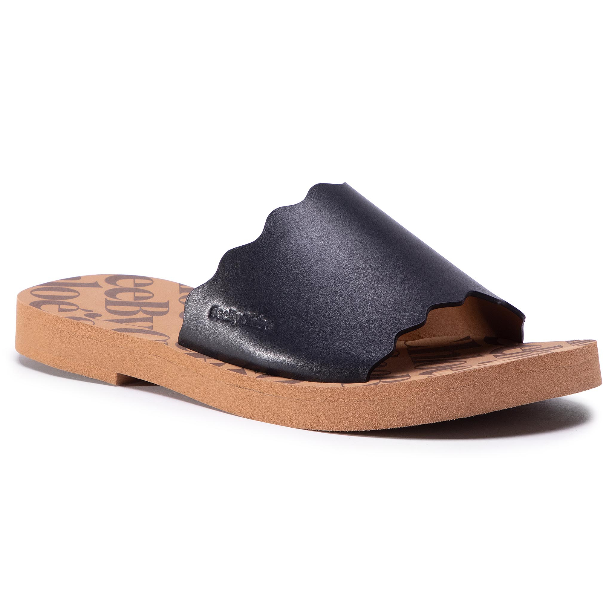 Image of Ciabatte SEE BY CHLOÉ - SB35180A Black/Light Brown 990