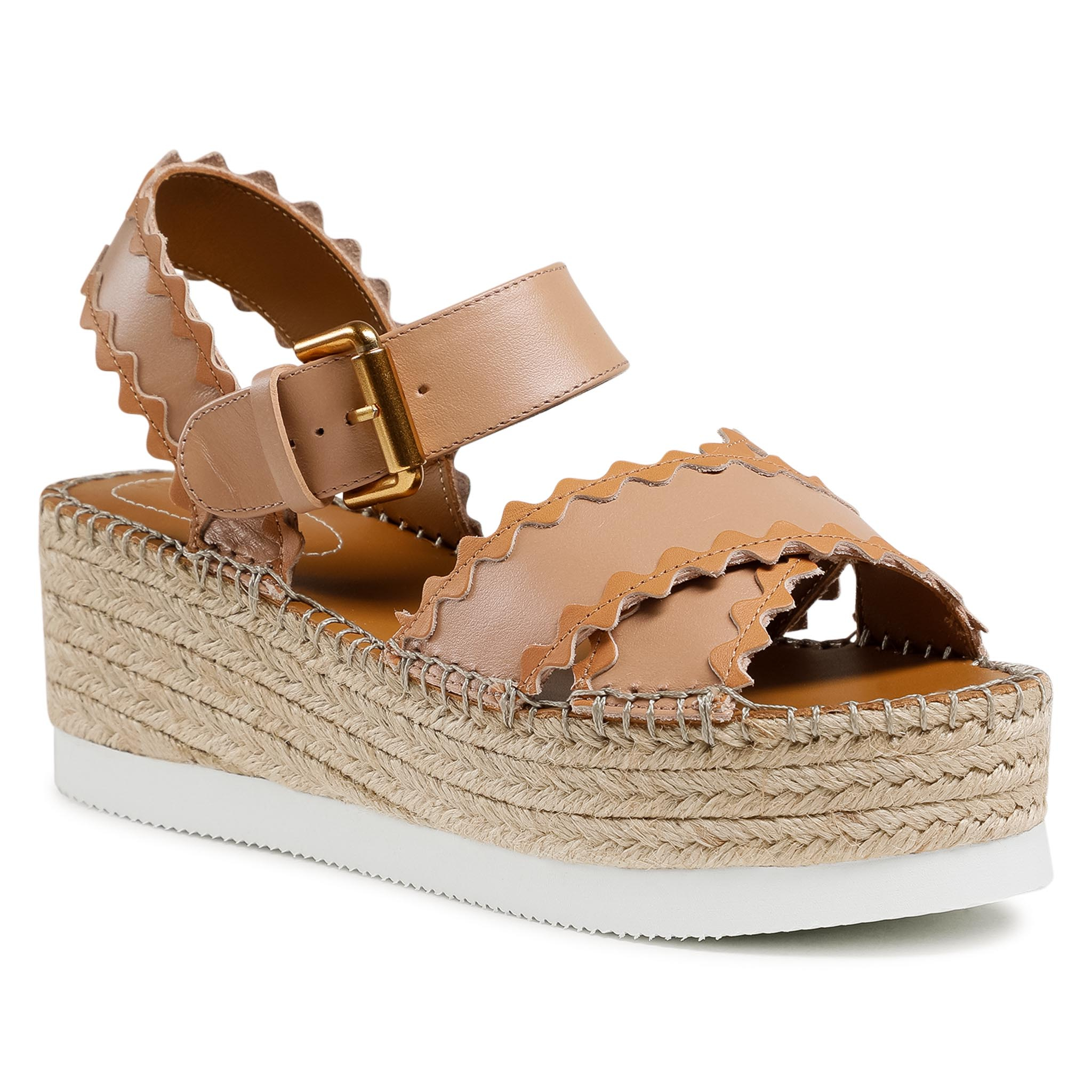 Image of Espadrillas SEE BY CHLOÉ - SB36112A Light Rose/Nat Calf 533