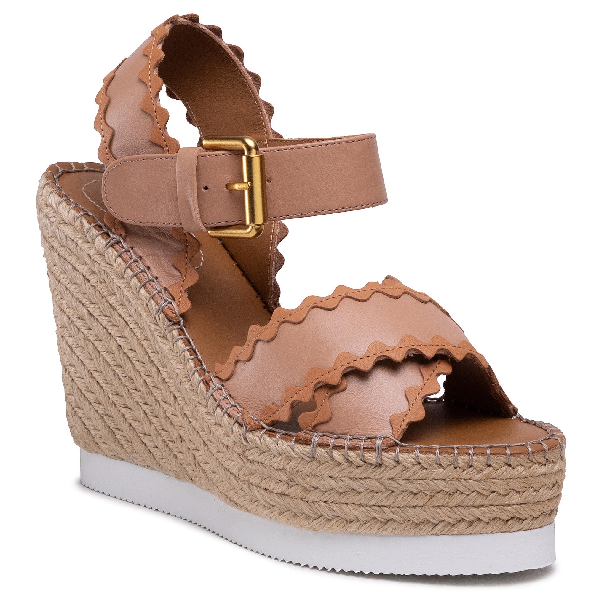 Image of Espadrillas SEE BY CHLOÉ - SB36113A Light Rose/Nat Calf 533