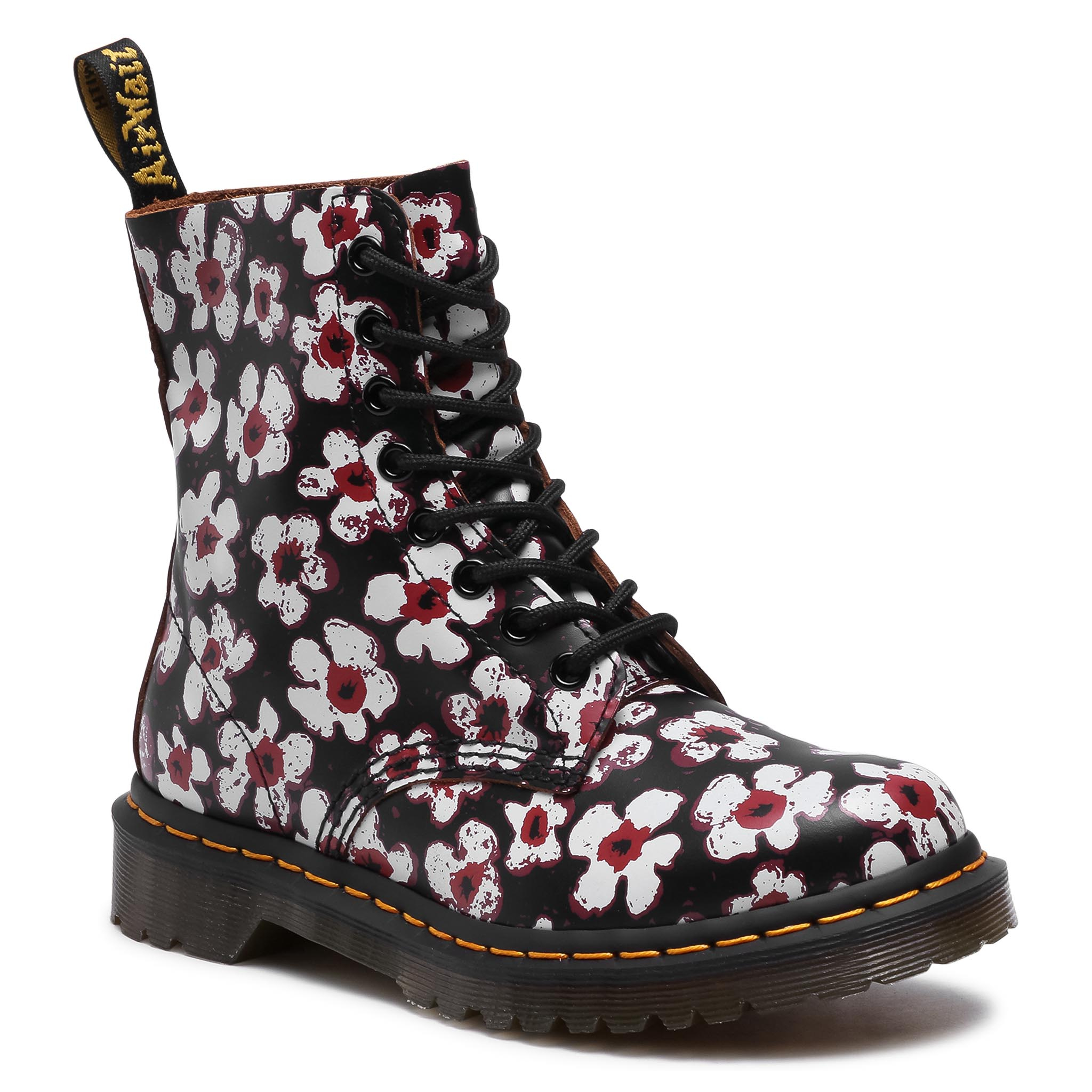 Image of Anfibi DR. MARTENS - 1460 Pascal 26456002 Black/Red