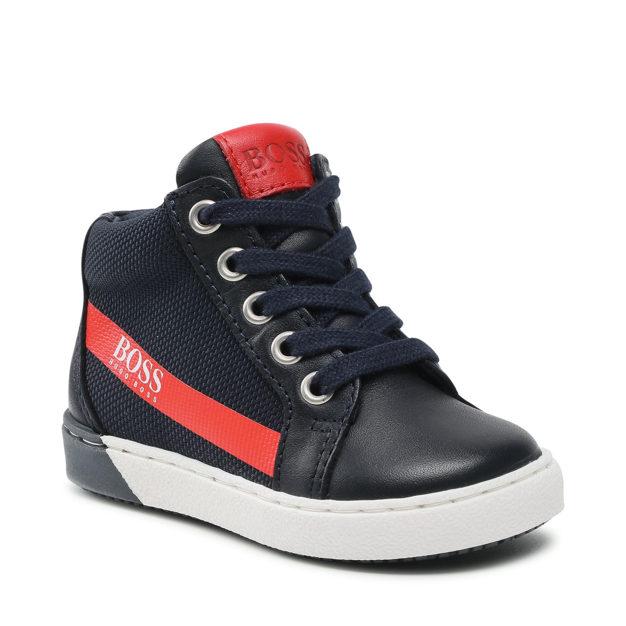 Sneakers BOSS - J09162 S Navy 849