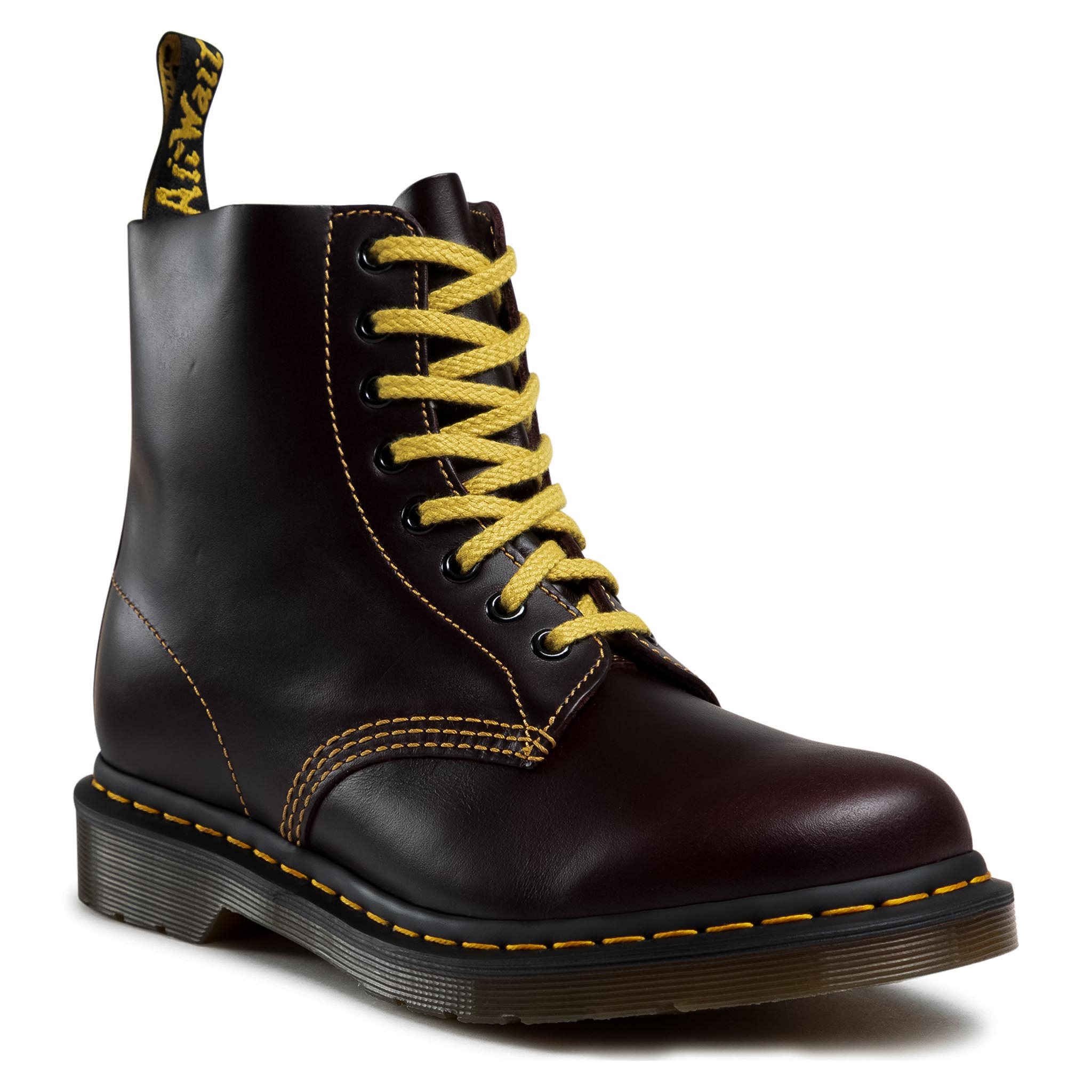 Image of Anfibi DR. MARTENS - 1460 Pascal 26243601 Oxblood