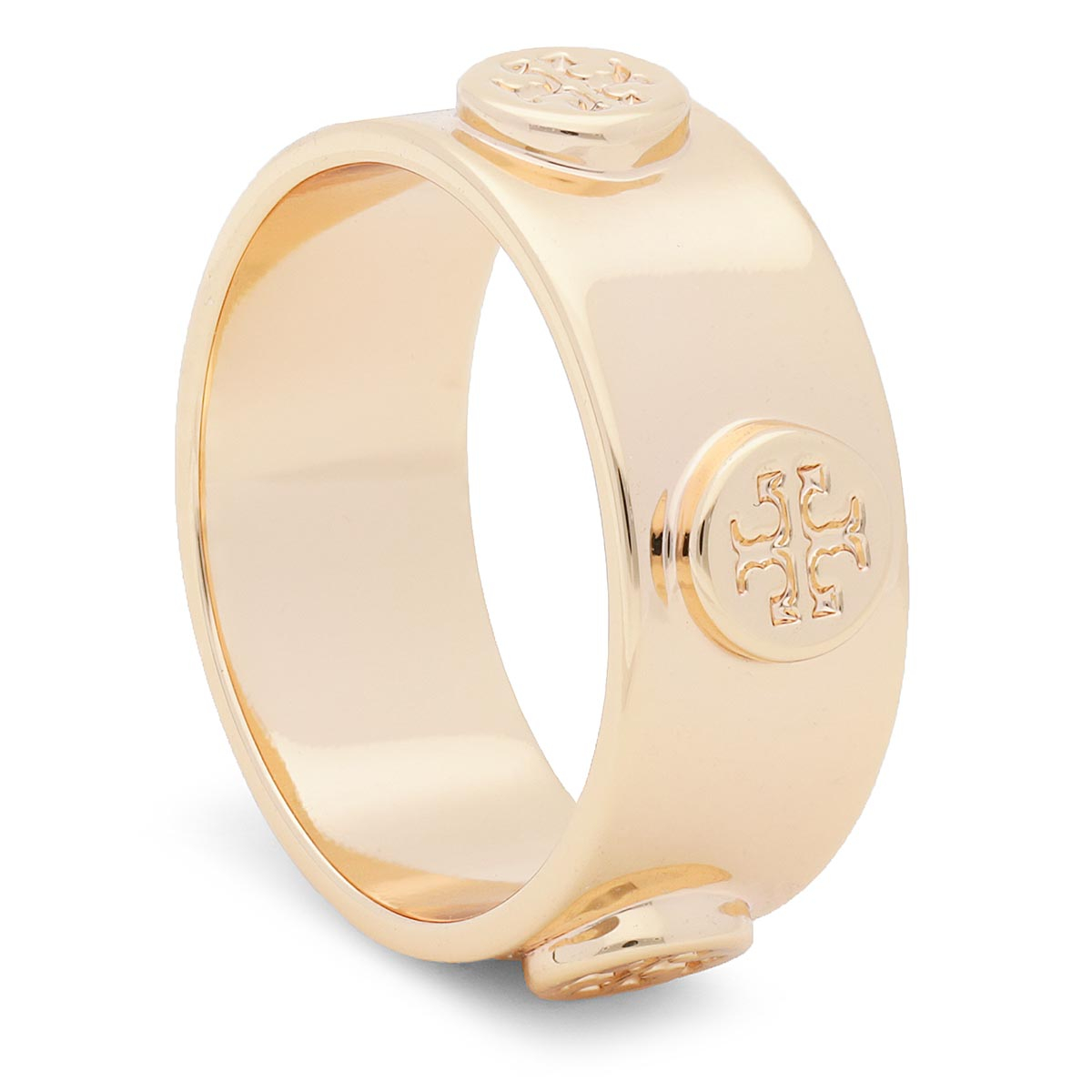 Image of Anello TORY BURCH - Logo Stud Ring 53362 Tory Gold 720