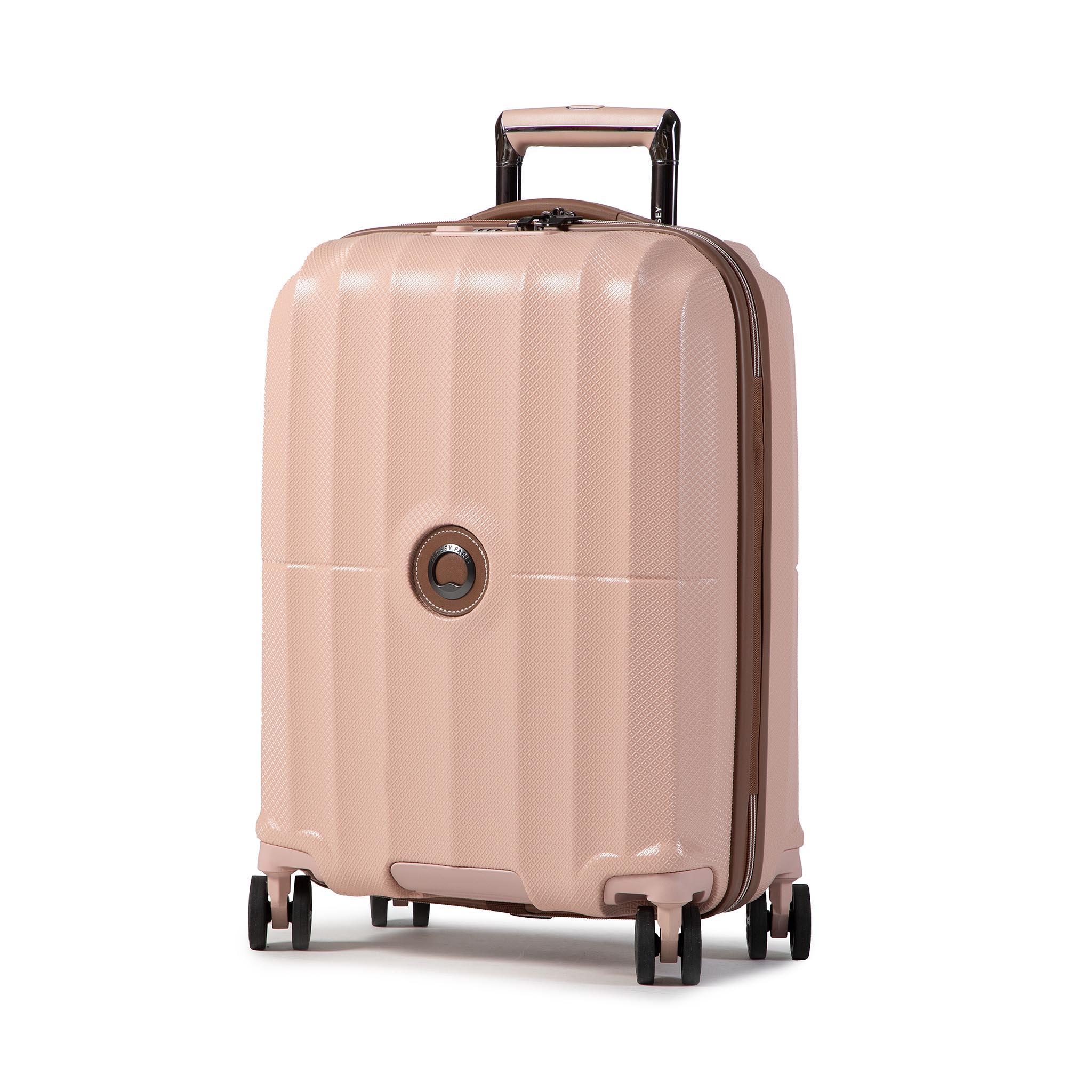 Valigia rigida piccola DELSEY - St Tropez 00208780319 Pink