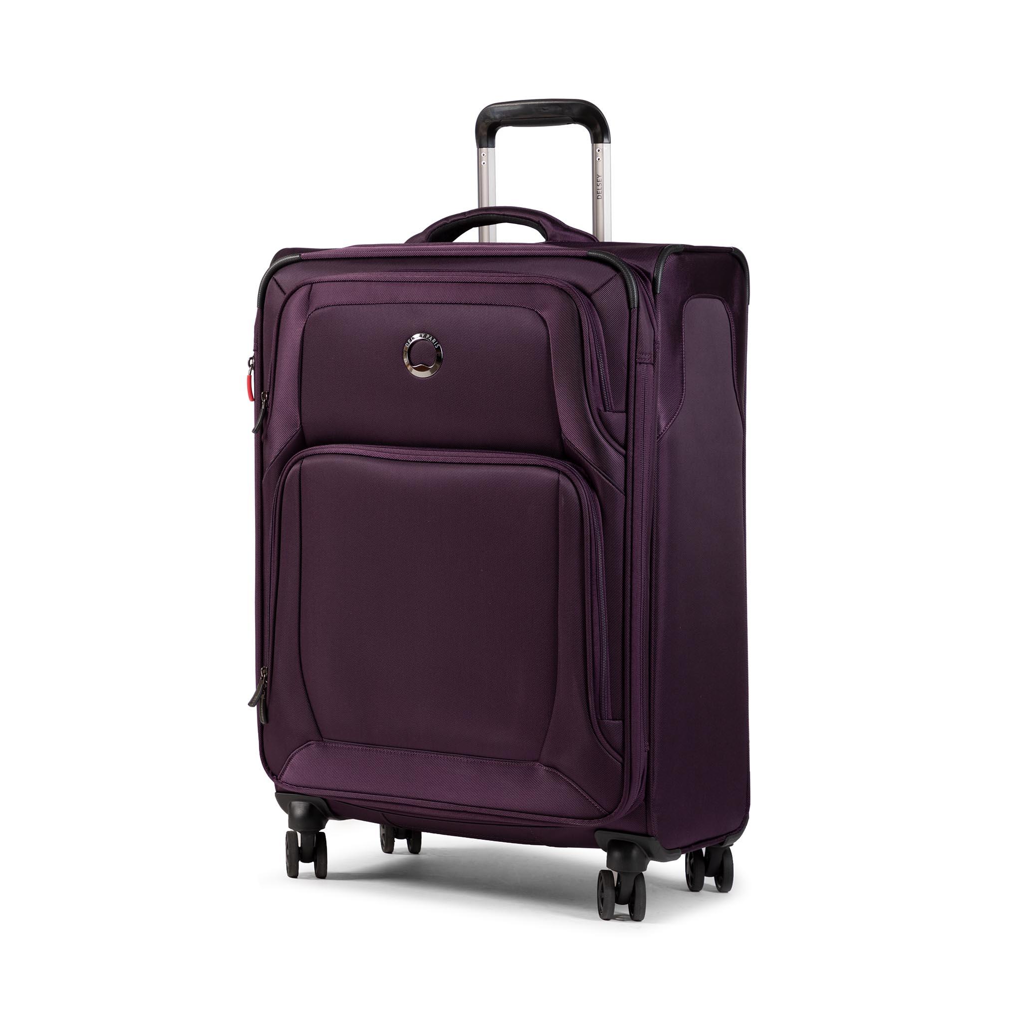 Valigia morbida grande DELSEY - Optimax Lite 00328582008T9 Violet