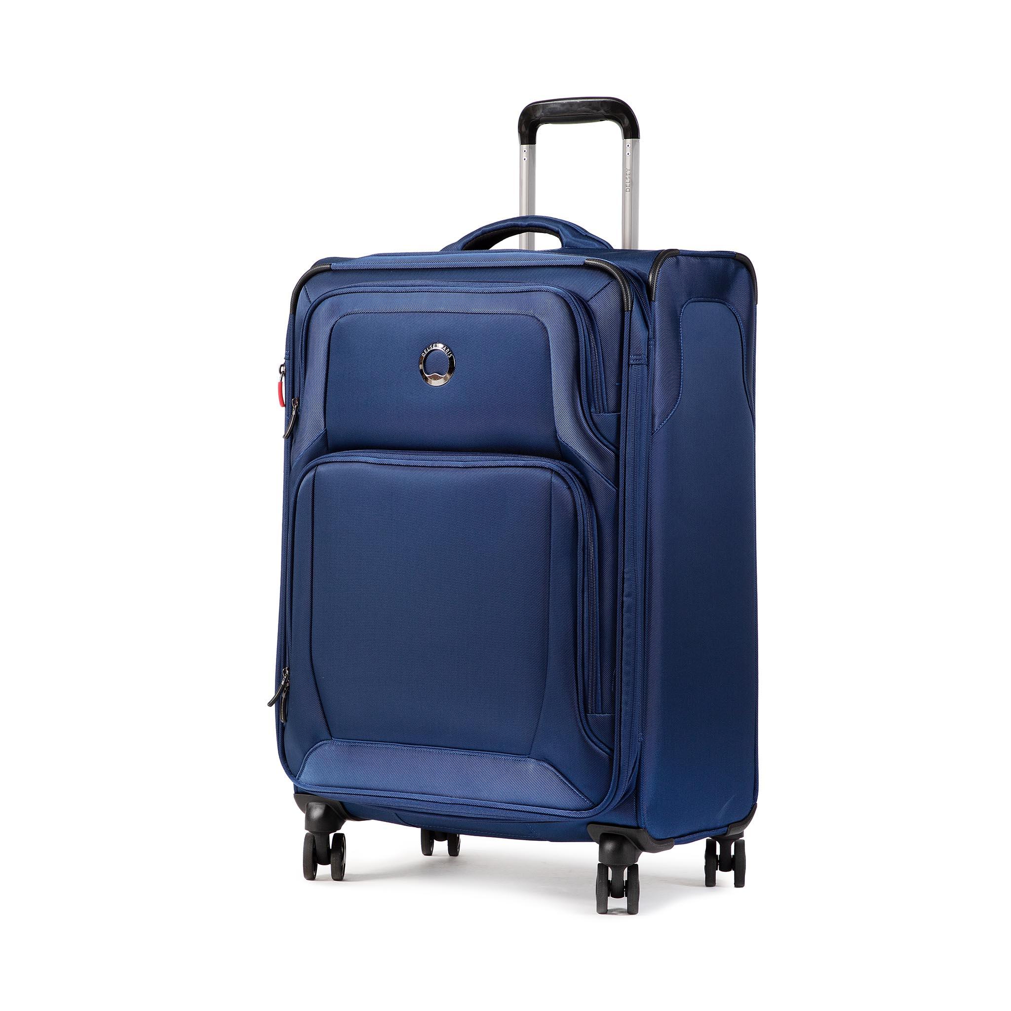 Valigia morbida media DELSEY - Optimax Lite 00328582002T9 Blue