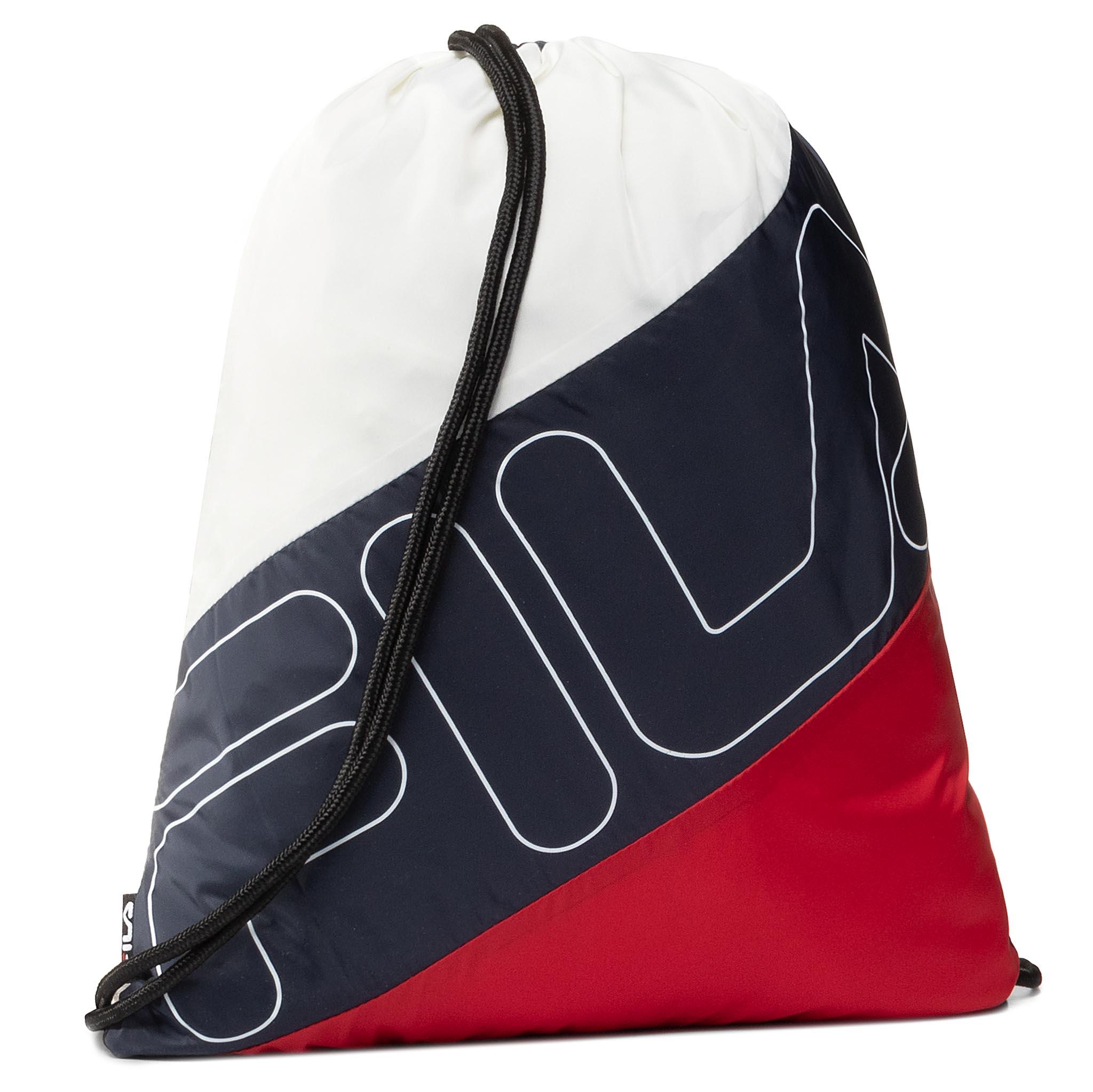 Image of Zaino FILA - Gym Sack Double Mesh 685127 Black Iris/True Red/Bright White G06