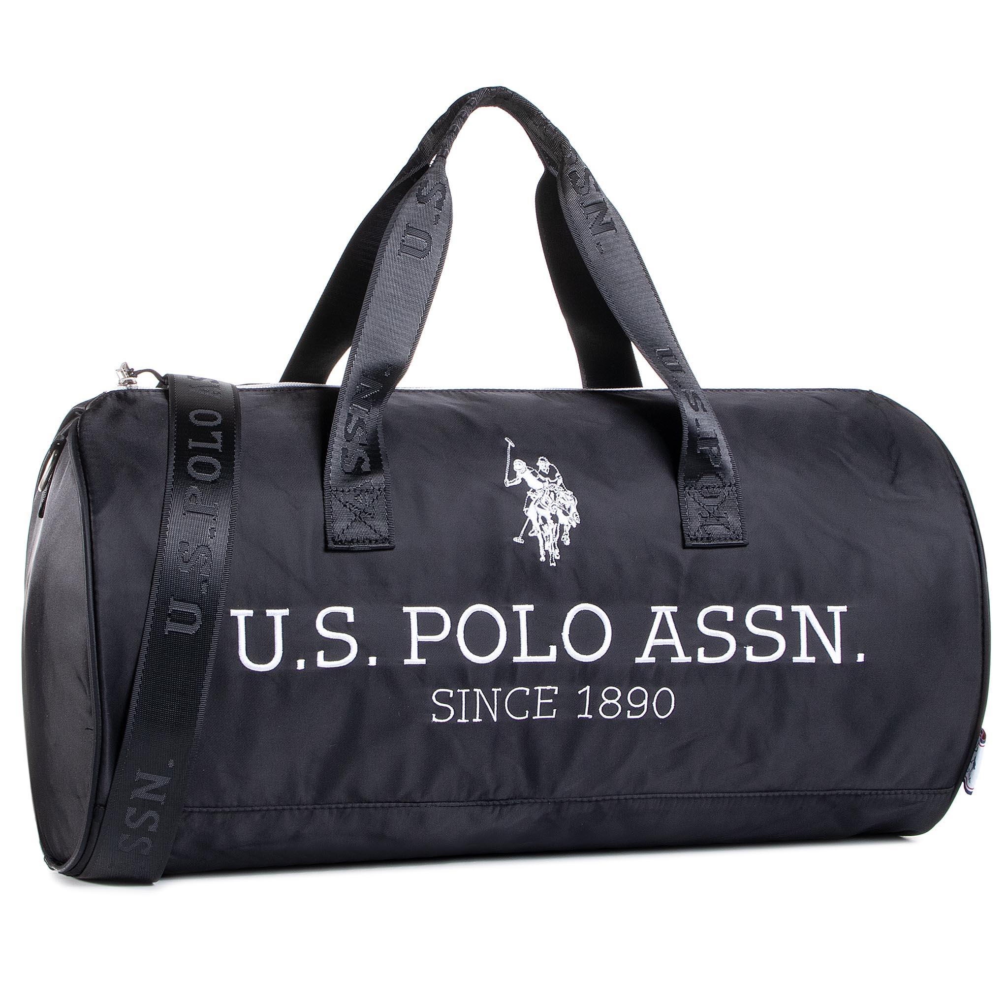 Borsa U.S. POLO ASSN. - New Bump Round Duffle Bag BIUNB4852MIA005 Black/Black