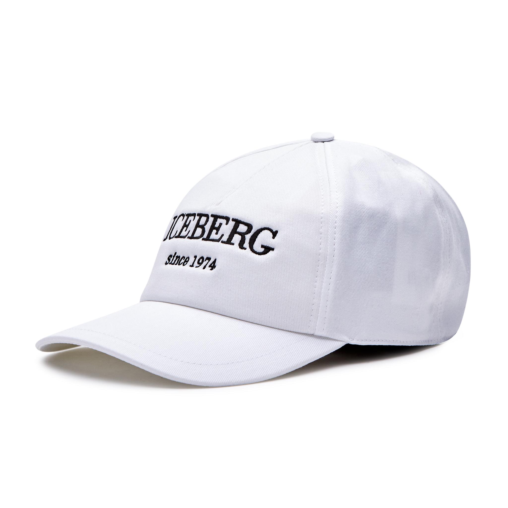 Cappello con visiera ICEBERG - 20II1P1700369201102 White