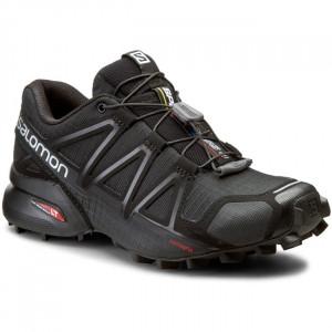 Scarpe SALOMON - Speedcross 4 W 383097 20 V0 Black/Black/Black Metallica