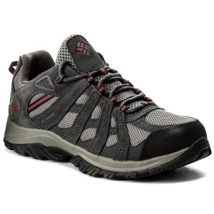 Scarpe da trekking COLUMBIA - Canyon Point Waterproof YM5416 Charcoal/Red Element 030
