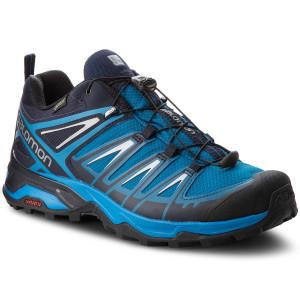 Scarpe da trekking SALOMON - X Ultra 3 Gtx GORE-TEX 404676 3O W0 Mykonos Blue/Indigo Bunting/Pearl Blue