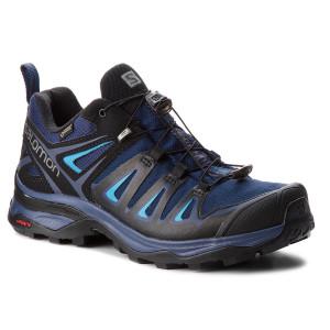 Scarpe da trekking SALOMON - X Ultra 3 Gtx W GORE-TEX 404682 25 W0 Medieval Blue/Black/Hawaiian Surf