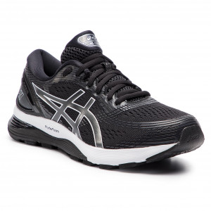 Scarpe ASICS - Gel-Nimbus 21 1011A172 Black/Dark Grey 001