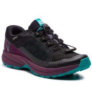 Scarpe SALOMON - Xa Elevate Gtx W GORE-TEX 406128 20 V0 Black/Potent Purple/Tropical Green