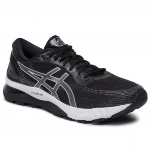 Scarpe ASICS - Gel-Nimbus 21 1011A169 Black/Dark Grey 001