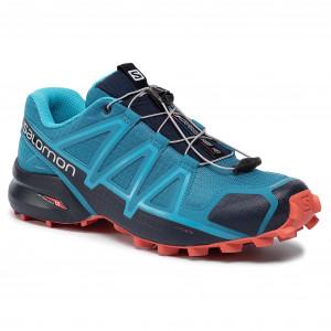 Scarpe SALOMON - Speedcross 4 407864 28 V0 Fjord Blue/Navy Blazer/Cherry Tomato
