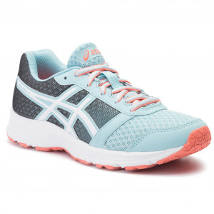 Scarpe ASICS - Patriot 9 Gs C806N Porcelain Blue/White/Flash Coral 1401