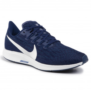 Scarpe NIKE - Air Zoom Pegasus 36 AQ2203 401 Blue Void/Metallic Silver