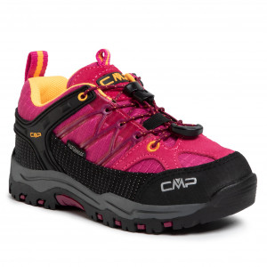 Scarpe da trekking CMP - Kids Rigel Low Trekking Shoes Wp 3Q54554  Bouganville/Goji 06HE
