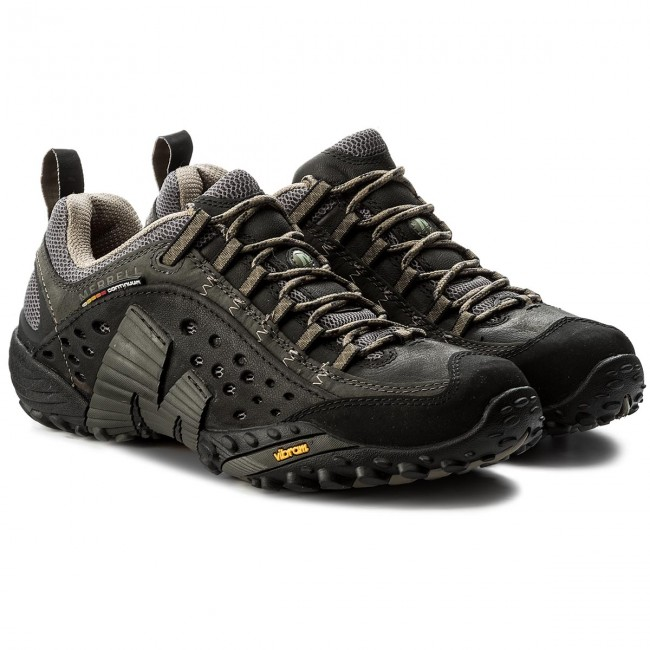Da Merrell Intercept Smooth Scarpe Black J73703 Trekking dBrexCo